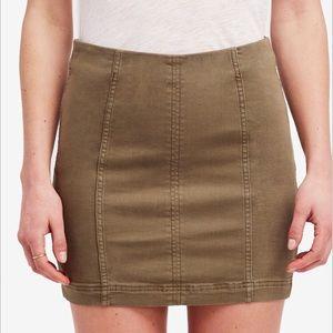 Copper Modern Femme Free People Mini Skirt